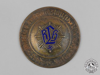Germany, RLB. A Reich Air Protection League (RLB) Berlin Group Door Plaque