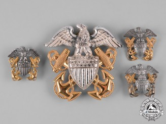 United States. A Group of United States Navy Insignia