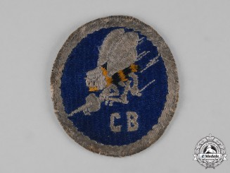 United States. A United States Naval Construction Battalions (Seabees) Sleeve Patch
