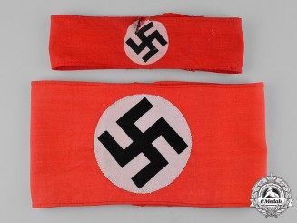 Germany, NSDAP. A Pair of NSDAP Armbands