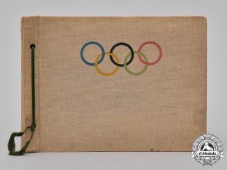 Germany, Third Reich. A Rare 1936 Berlin Olympics Photo Album, Egon Sander