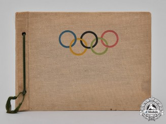 Germany, Third Reich. A Rare 1936 Berlin Olympics Photo Album, Egon Sander