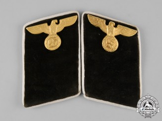 Germany,  NSDAP. A Set of Political District Leader Candidate Collar  Tabs