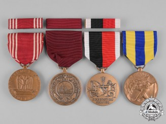 United  States. A Group of Service Medals