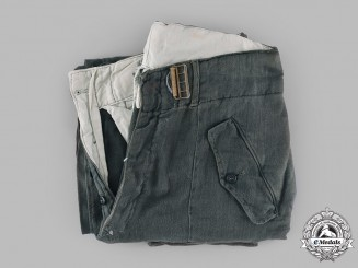 Germany, Luftwaffe. A Pair of Fallschirmjäger Trousers