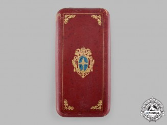 Vatican, City State. An Order of Pope Pius IX, Grand Cross Case, c.1885