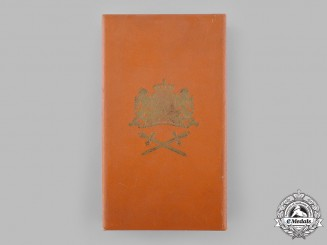 Netherlands, Kingdom. An Order of Orange-Nassau, II Class Grand Officer, Military Division Case