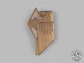 Germany, HJ. A 1934 HJ Nuremberg Regional Sports Festival Badge