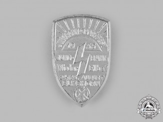 Germany, DJ. A 1935 Deutsches Jungvolk (DJ) Elmshorn Sports Festival Badge