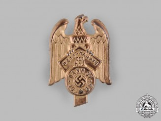 Germany, HJ. A 1935 HJ Bann 31 Combat Games Badge