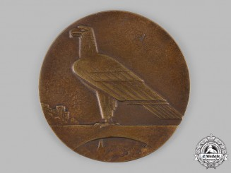 Germany, Weimar Republic. A 1930 Liberation of the Rheinland Commemorative Table Medal