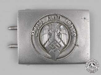 Germany, HJ. A HJ EM/NCO's Belt Buckle by Richard Sieper & Söhne