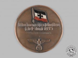 Germany, Kriegsmarine. A 1935 Kriegsmarine Kiel Swimming Competition First Place Medal