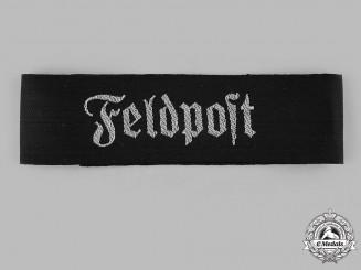 Germany, Wehrmacht. A Wehrmacht Feldpost Cuff Title