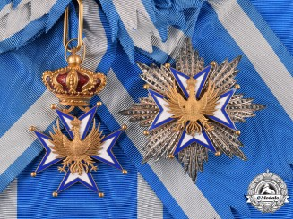 Italy, Duchy of Modena and Reggio. An Order of the Eagle of Este, Grand Cross, c.1930's