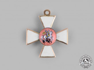Russia, Imperial. An Order of St. George in Gold, Miniature, c.1850