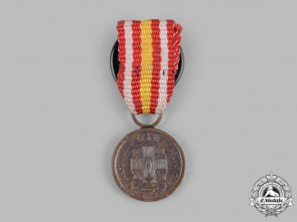 "Spain, Kingdom. A Red Cross ""Constancia"" Medal, Type I (1924-1931), Miniature"