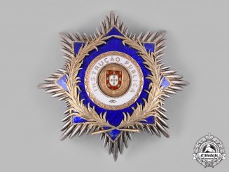 Portugal, Republic. An Order of Public Instruction, Grand Cross Star, by Frederico Costa, c.1930