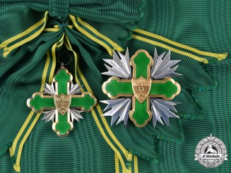 Colombia, Republic. An Order of San Carlos, II Class Grand Cross, c.1970