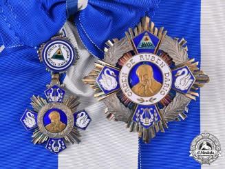 Nicaragua, Republic. An Order of Ruben Dario, Grand Cross c.1960