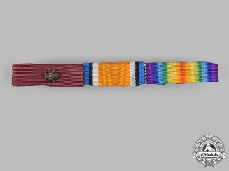 United Kingdom. A Victoria Cross Ribbon Bar, c.1918