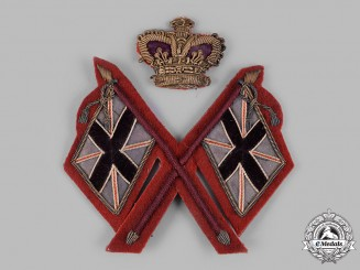 United Kingdom. A Victorian Army Colour Sergeant's Sleeve Patch, c.1900