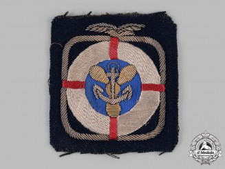 United Kingdom. A Royal Air Foce Sea Rescue Badge, c.1935