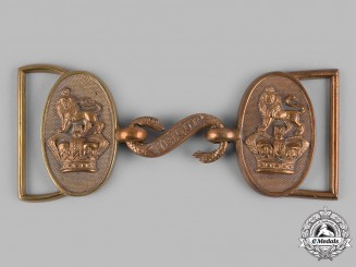 United Kingdom. A Victorian Royal Artillery Officer's Dress Belt Buckle, c.1890