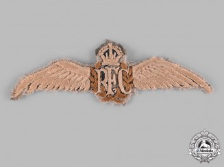 United Kingdom. A Royal Flying Corps (RFC) Pilot's Wing, c.1916