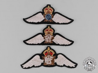 Canada. Three Royal Canadian Air Force (RCAF) Prototype Badges, c.1950