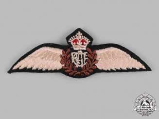 Canada. A Second War Royal Canadian Air Force (RCAF) Pilot's Wing, 1944-1945 Issue