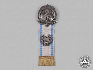 Germany, Weimar Republic. A Bavarian Veterans Association 20 Year Membership Badge