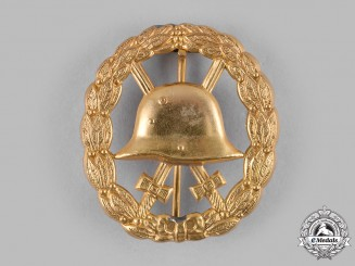 Germany, Imperial. A Gold Grade Wound Badge, Cut-Out Version