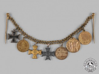 Germany, Imperial. A Miniature Medal Chain