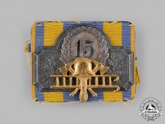 Braunschweig, Duchy. A Fire Brigade 15-Year Long Service Clasp, c.1900