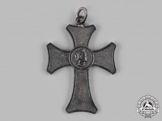 Württemberg, Kingdom. A Silver Honour Cross for Female Servants, c.1900