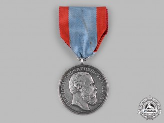 Hesse, Grand Duchy. A General Merit Medal, Silver Grade, by J. Ries, c.1890