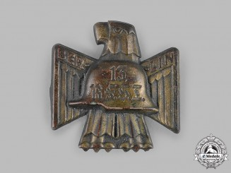 Germany, Der Stahlhelm. A 13th Reichsfrontsoldatentag (Reich Front Soldier's Day) Berlin Meeting Badge