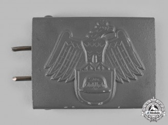 Germany, Der Stahlhelm. A Stahlhelm Enlisted Personnel Belt Buckle