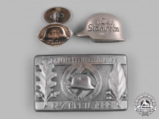 Germany, Der Stahlhelm. A Group of Stahlhelm Badges