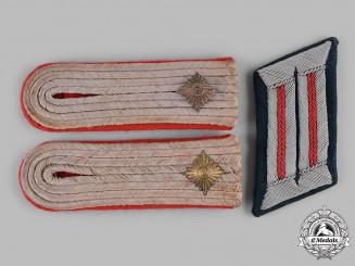 Germany, Heer. A Group of Heer General Staff Oberleutnant Rank Insignia