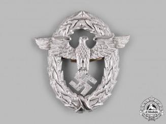 Germany, Ordnungspolizei. An Ordnungspolizei First Pattern Cap Eagle