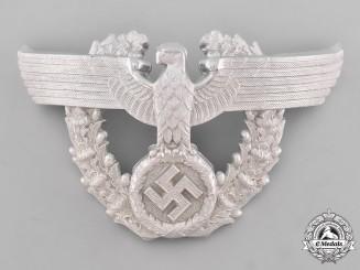 Germany, Ordnungspolizei. An Ordnungspolizei (Order Police) Officer's Shako Eagle