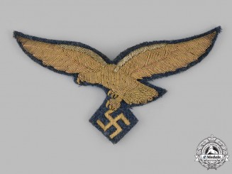 Germany, Luftwaffe. A Rare Luftwaffe General's Cape Eagle