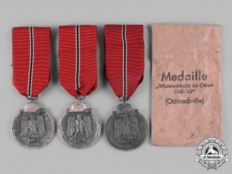 Germany, Wehrmacht. A Group of Eastern Front Medals