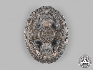 Germany, Third Reich. A Schlageter Memorial Society 10-Year Commemorative Badge by Wächtler & Lange