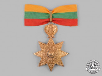 Ethiopia, Empire. An Order of the Star of Ethiopia, II Class Commander