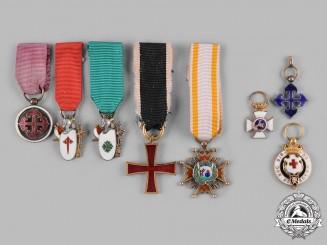 International. Eight Miniature Awards & Decorations