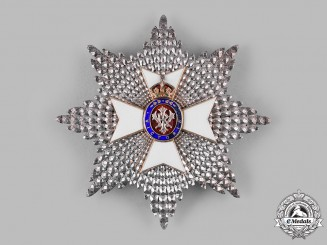 United Kingdom. A Royal Victorian Order, I Class Grand Cross Star (GCVO)
