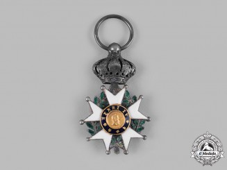 France, July Monarchy. A Legion of Honour, Miniature,c.1840